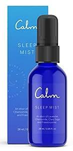 Calm Sleep Mist Pillow Spray | Lavender Spray, Frankincense, Chamomile and Clary Sage Pillow Spray - 28 ml