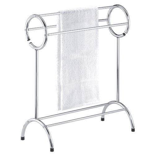 Taymor 01-1087 Chrome Circle Top Towel Valet