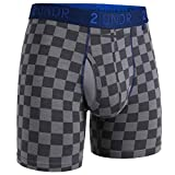 "2UNDR Men's Swing Shift 6"" Boxer Brief Underwear"