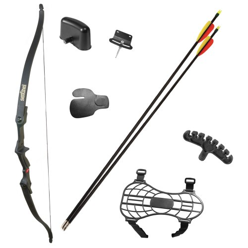 Crosman Archery Sentinel Youth Recurve Bow, Right Hand (25 Inch Riser)