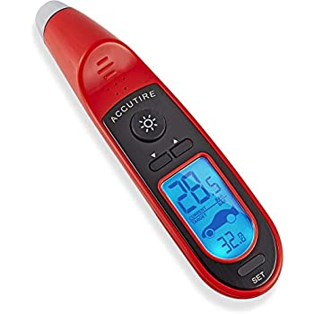 Accutire Programmable Tire Pressure Gauge