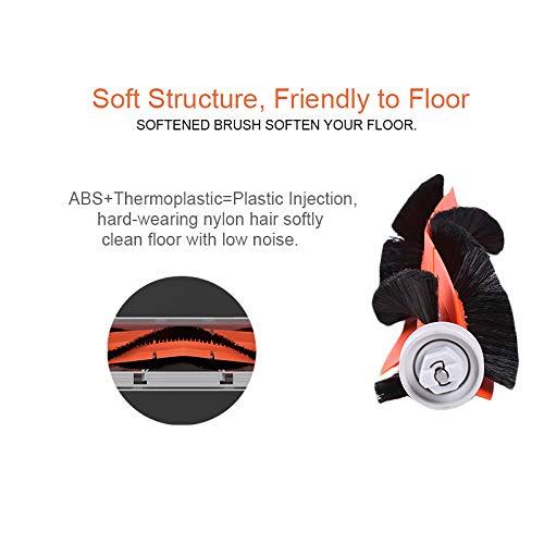 In Design; Popular Brand Vacuum Cleaner Spare Parts For Xiaomi Roborock Mi Robot Kits 2pc Filter 2pcs Side Brush 1pc Main Brush 1pc Virtual Magnetic Wa Novel