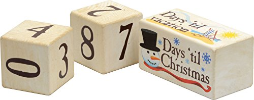 Days 'Til Countdown Blocks - Made in USA -