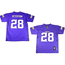Adrian Peterson Minnesota Vikings NFL Kids Purple Home Mid-Tier Jersey