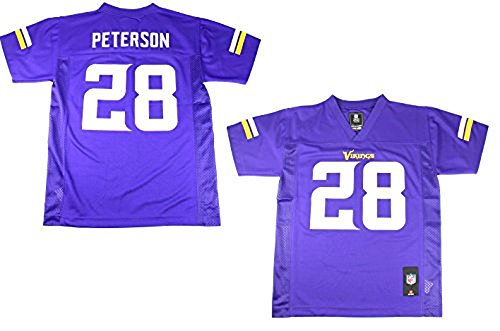 Adrian Peterson Minnesota Vikings NFL Kids Purple Home Mid-Tier Jersey – Sports Center Store