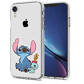 Amazon.com: iPhone XR Case, Stitch Look up to The Sky 3D