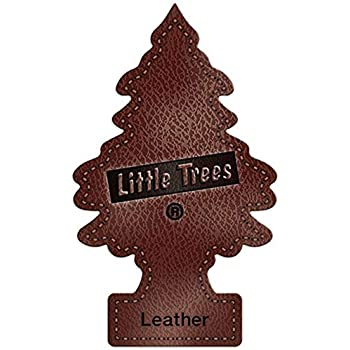 Little Trees 6 Car Air Freshener 6-Pack (Leather), 6 Pack
