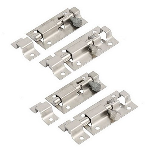 0.75' Toggle (FemiaD Door Chains Home Office Door 62mmx28mmx8mm Sliding Locker Latch Stainless Steel Barrel Bolts 4pcs)