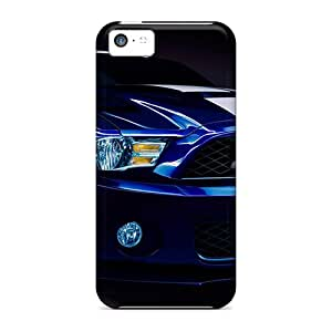Hot New Ford Shelby Gt500 Case Cover For Iphone 5c With Perfect Design