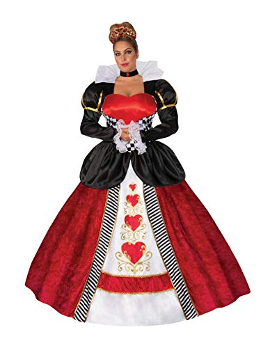 Rubie's Elite Queen of Hearts Adult Plus Costume XXL
