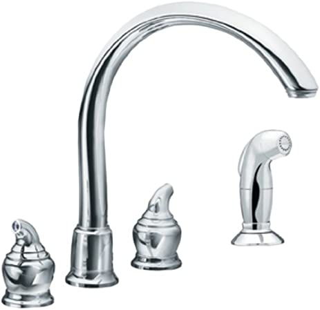 Charmant Moen 7786 Monticello High Arc Kitchen Faucet, Chrome