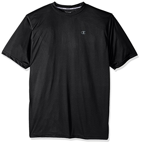 Champion Mens Big and Tall C-Vapor Performance Crew Stripe with Left Chest c