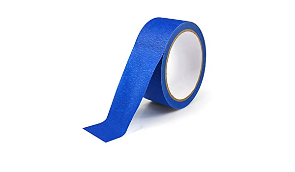 ueetek cinta de carrocero azul pintores cinta 30 m para impresoras ...