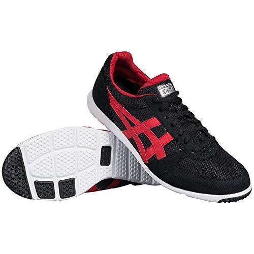 Onitsuka Tiger - Zapatos para hombre schwarz/rot