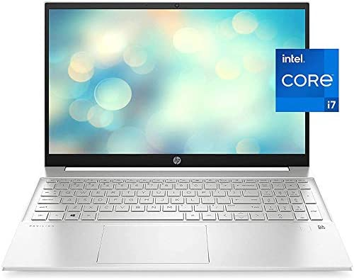 "2021 Newest HP Pavilion 15 Laptop, 15.6"" HD IPS Micro-Edge Display, Intel Core i7-1165G7, Intel Iris Xe Graphics, 16GB DDR4 RAM, 512GB PCIe SSD, Backlit Keyboard, Fingerprint Reader, Win 10 Home"