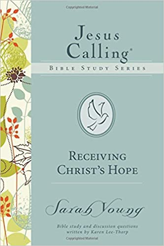 Book Receiving Christ's Hope (Jesus Calling Bible Studies) by Sarah Young (2015-07-28)