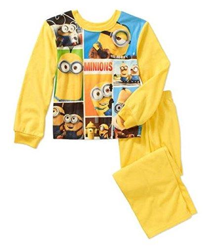 [Despicable Me Boys' Minions 2-pc Pajama Set (10/12)] (Minnie Mouse Costume Nerd)