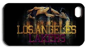 LZHCASE Personalized Protective Case For Ipod Touch 5 Cover NBA Los Angeles Lakers