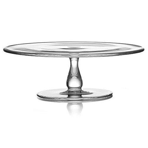"Price comparison product image The MODERNE Glass 11"" Cake Plate by Nambè"
