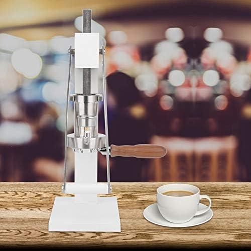Naroote Cafetière Manuelle Commerciale avec cafetière à Long Manche, Machine d'extraction Machine à café de Presse Durable, pour Une opération Simple à la Maison de Bureau