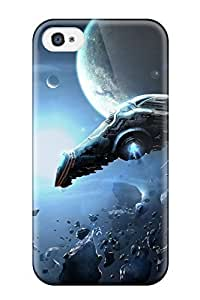 Awesome Eve Online Flip Case With Fashion Design For Iphone 4/4s