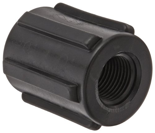 Banjo CPLG050 Polypropylene Pipe Fitting, Coupling, Schedule 80, 1/2