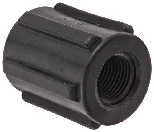 (Banjo CPLG050 Polypropylene Pipe Fitting, Coupling, Schedule 80, 1/2