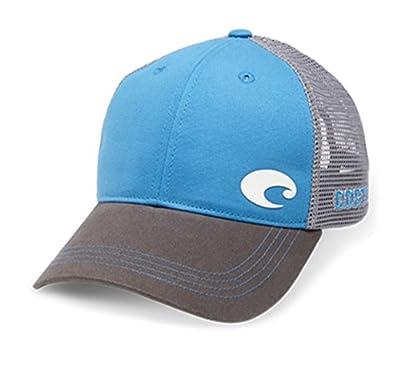 Costa Del Mar Unisex Offset Logo Trucker Hat from COSTA DEL MAR