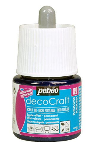 pebeo-decocraft-water-based-permanent-color-ink-45ml-turquoise