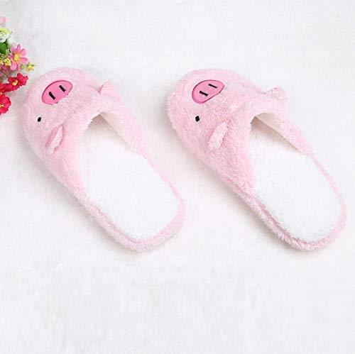 Forma Femminile Scarpe Ragazze Inverno Morbido Pavimento Carino Primavera Casa Maiale Donna Calda Pantofole tRwq0z
