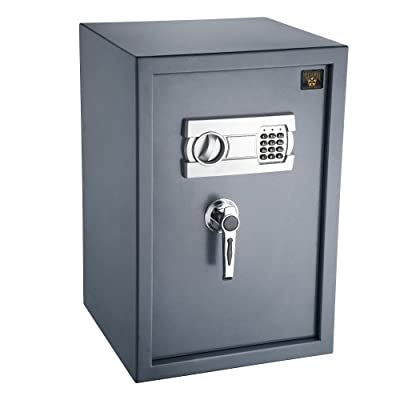 Paragon 7803 Electronic Digital Lock and Safe 2.47 CF Paraguard Deluxe Safe Home Security