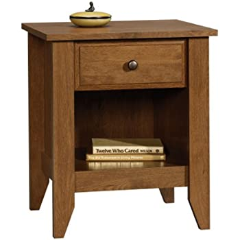Sauder Shoal Creek Night Stand  Oiled Oak. Amazon com  Sauder Shoal Creek Night Stand  Oiled Oak  Kitchen