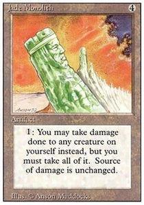 Magic: the Gathering - Jade Monolith - Revised Edition ()