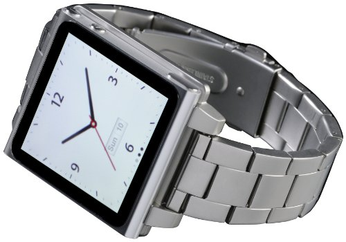 hex-hx1026-slvr-vision-metal-watch-band-for-ipod-nano-6g-silver