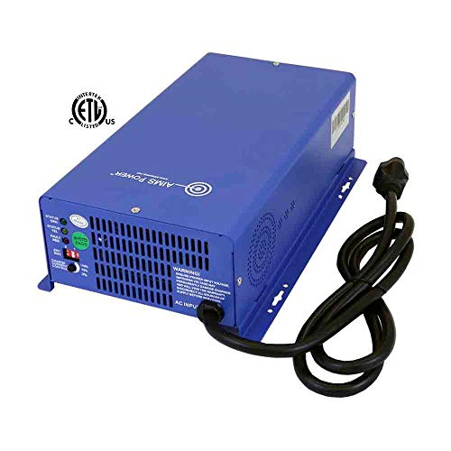 Aims Power CON120AC1224DC AC Converter & Battery 12V/24V Smart Charger 75 amps Listed to UL 458 & CSA