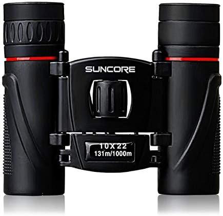 Newgrees Suncore HD Prismáticos 10x22 Alto Rendimiento Los Gemelos para Viajar Deportes