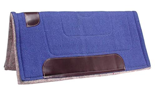 Tough 1 Ottawa Saddle Pad Heavy Felt Lined, Hunter Green ()