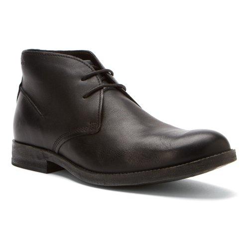 Black M Men's Clarks US Goby Leather Hi 7 aHSxfwAq