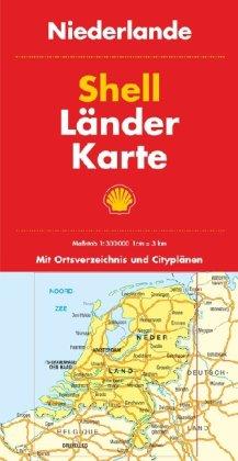 Shell Länderkarte Niederlande 1:300.000 Landkarte – Folded Map, April 2010 MAIRDUMONT 3826462513 Karten / Stadtpläne / Europa Atlas