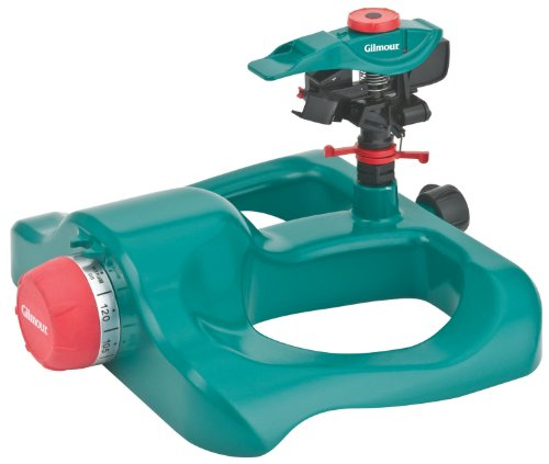 Gilmour 200GMBPT Poly Head/Sled Base Sprinkler with Timer (Base Sled Sprinkler)