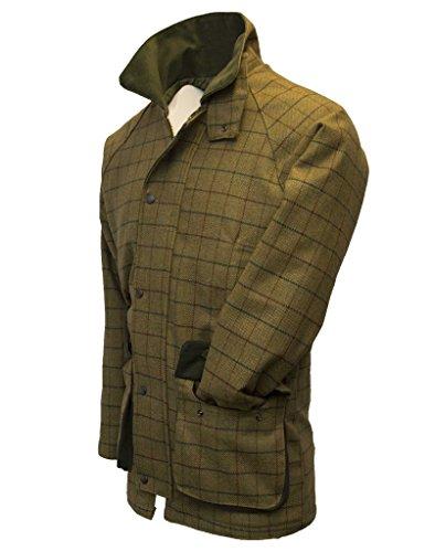 Walker and Hawkes Men's Derby Tweed Shooting Hunting Country Jacket XXX-Large Beige Tweed