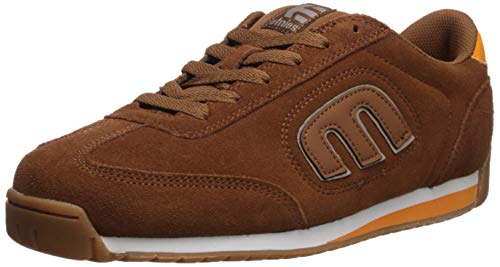 Etnies Men's LO-Cut II LS Skate Shoe Brown/Orange 9 Medium US