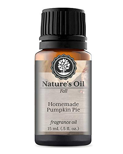 (Homemade Pumpkin Pie Fragrance Oil (15ml) For Diffusers, Soap Making, Candles, Lotion, Home Scents, Linen Spray, Bath Bombs, Slime)