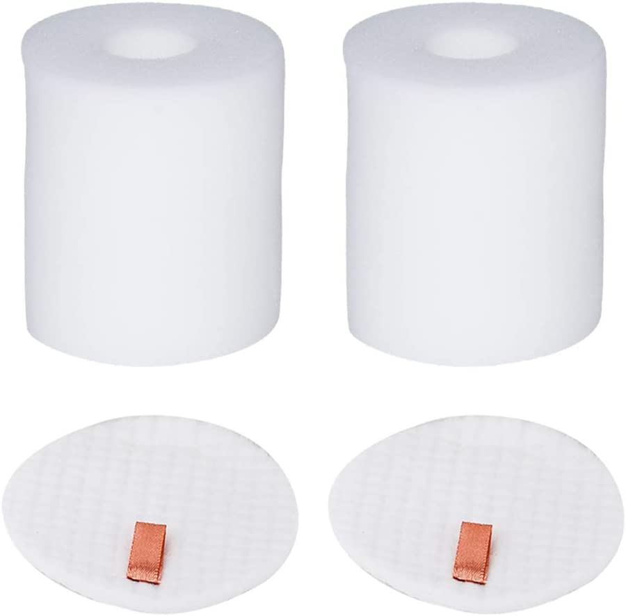 HIFROM Foam & Felt Filter Set Fits Shark Rotator Pro NV500, NV500CO, NV501, NV502, NV503, NV500W & NV550 Vacuums, Part #XFF500 XFF500 Pro Vacuum Cleaner Filter (2 Pack)