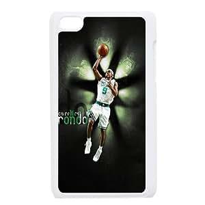 Boston Celtics Rajon Rondo iPod Touch 4 Case White F9S3JQ