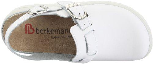 Berkemann Tec-Pro Telis 09106-100, Zoccoli uomo bianco