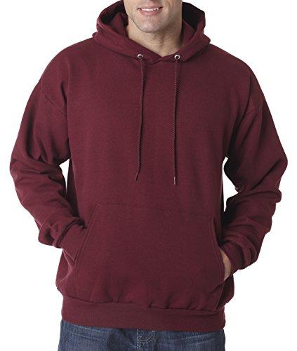 hanes-adult-ecosmart-pullover-hood-maroon-medium