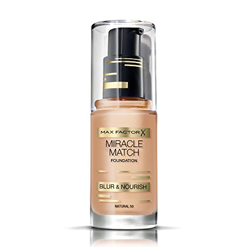 Max Factor Miracle Match Foundation 50 Natural