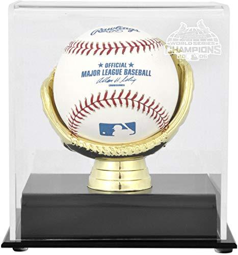 St. Louis Cardinals 2006 World Series Champs Gold Glove Single Baseball Logo Display - 2006 World Champs Series