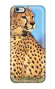 High Quality ZippyDoritEduard Cheetah Skin Case Cover Specially Designed For Iphone - 6 Plus